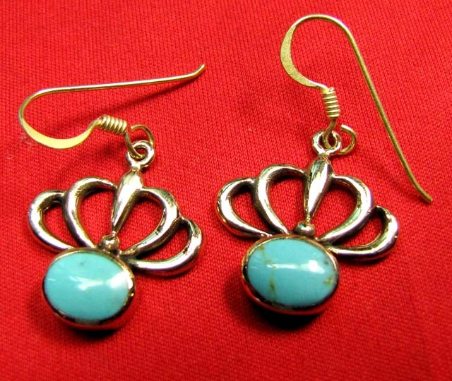 HOWLITE BRONZE EARRINGS RT 285