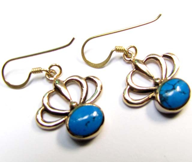 HOWLITE BRONZE EARRINGS RT 287