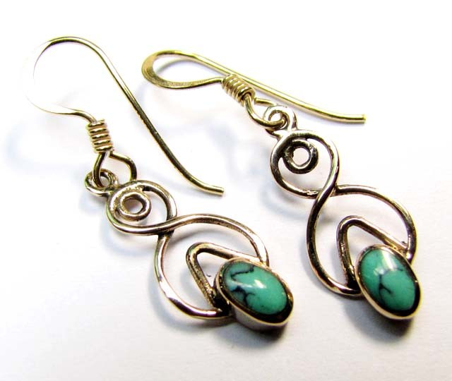HOWLITE BRONZE EARRINGS RT 293