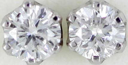 Australian 9ct  Gold Classic Diamond Earrings .25 ct  JAO30