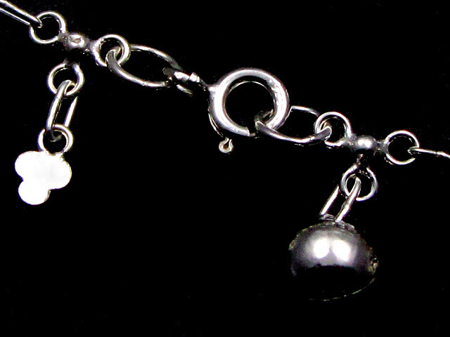 SILVER ANKLET   925  CHAIN  10  INCHES  /  25 CM  CMT 113
