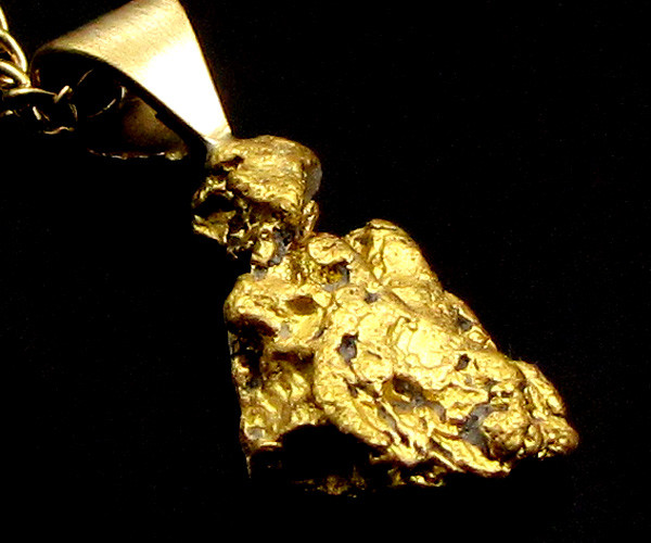 GOLD NUGGET PENDANT  2.50 GRAMS LGN 866