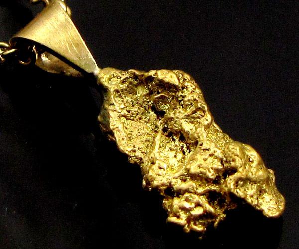 GOLD NUGGET PENDANT   2.12 GRAMS LGN 867