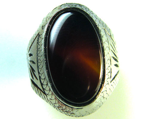 AGATE  RING SIZE   SIZE    6  TR 375