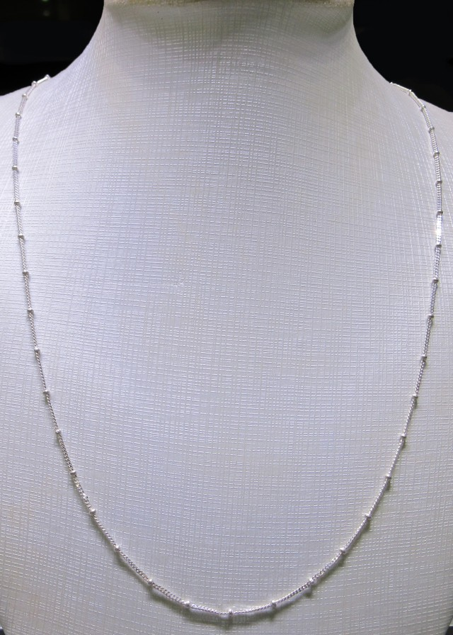 NECKLACE SILVER CHAIN 925 CHAIN 52CM CMT 71