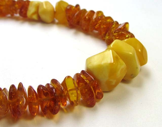 27 ctsNATURAL  BALTIC AMBER BRACELET  MGMG 201