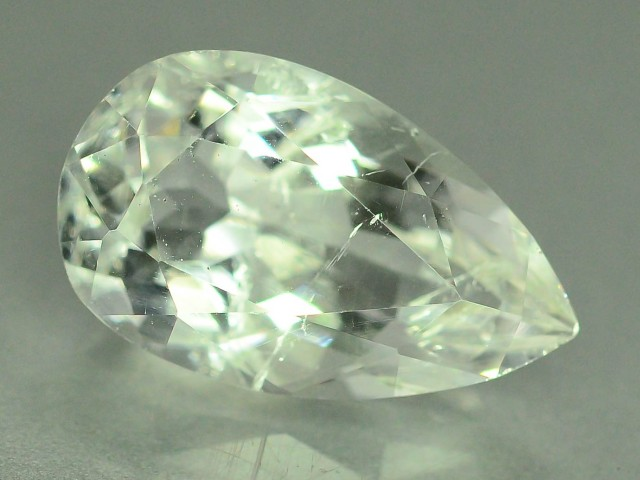 Rare 3.410 ct Natural Kunar Pollucite Collector's Gem L.1
