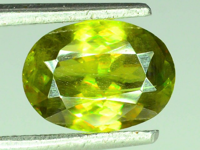 Natural Sphene 1.1 ct Great Color Dispersion From Himalayan Range