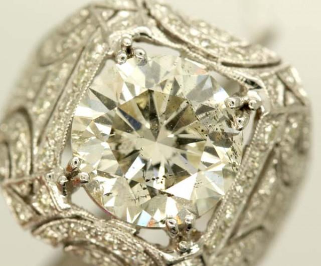 5.03ct  DIAMOND RING 18K