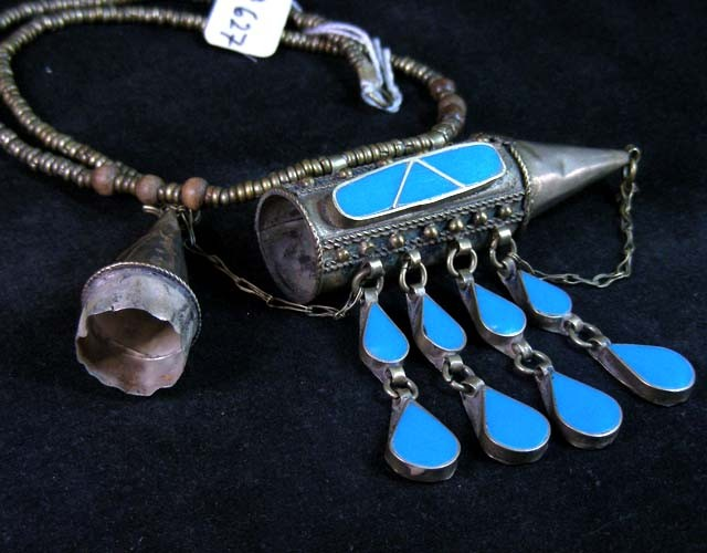 OLD TRIBAL  AGATE NECKLACE  STRAND   11 627