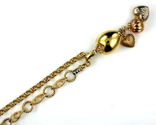 26.9 grams BEAUTIFUL 18k Solid Gold Chain 26.9 GRAMS L260