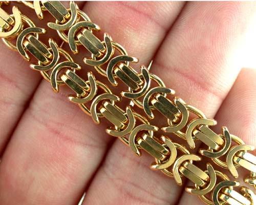 51.8 Grams 9k Solid Gold Chain 51.8 GRAMS UNIQUE DESIGN L231