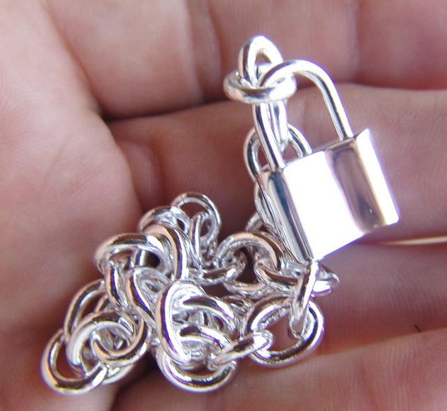 925 Sterling Silver Bracelet - Fun