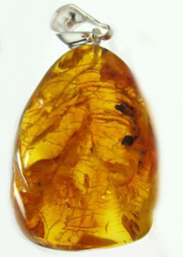 49.6 CTS LARGE NATURAL  BALTIC AMBER PENDANT  MGMG178