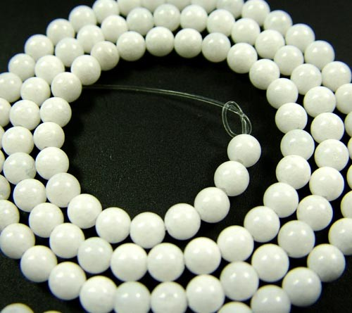 HOWLITE BEADS 47.80 CTS [GT 1817]