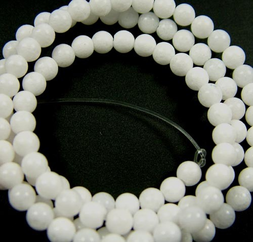 HOWLITE BEADS 47.70 CTS [GT1822 ]
