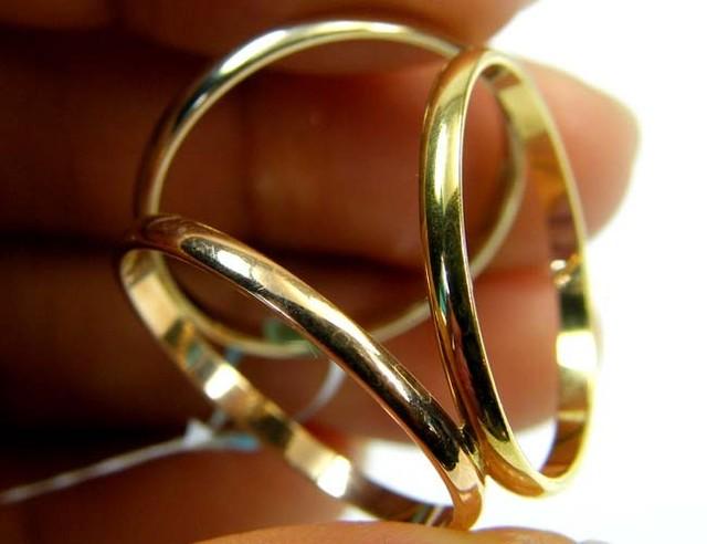 Estate jewellery 18 k gold stamped hallmark 750 TB 26