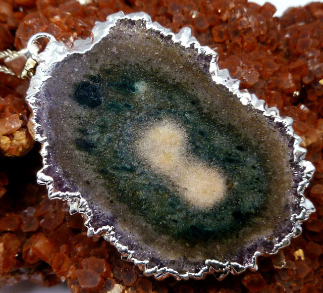93CTS STALACITIE AMETHYST PENDANT MGMG 99