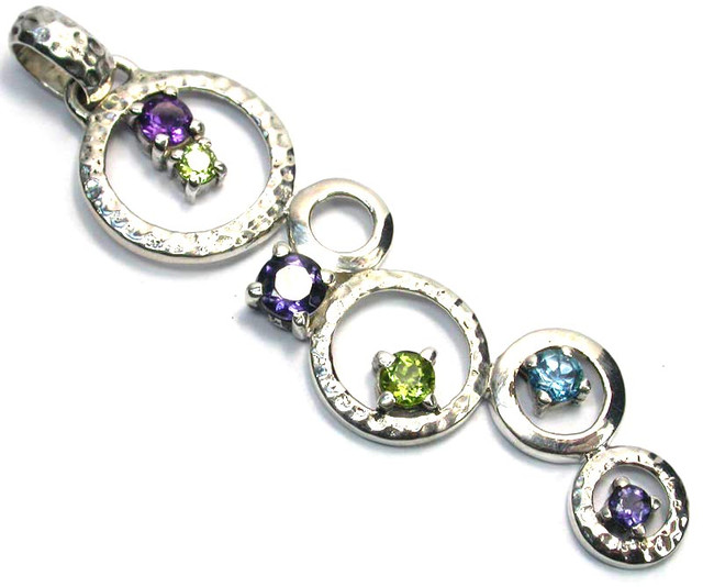 GEMSTONES PENDANT DIRECT FROM FACTORY 26.55 CTS [SJ1197]