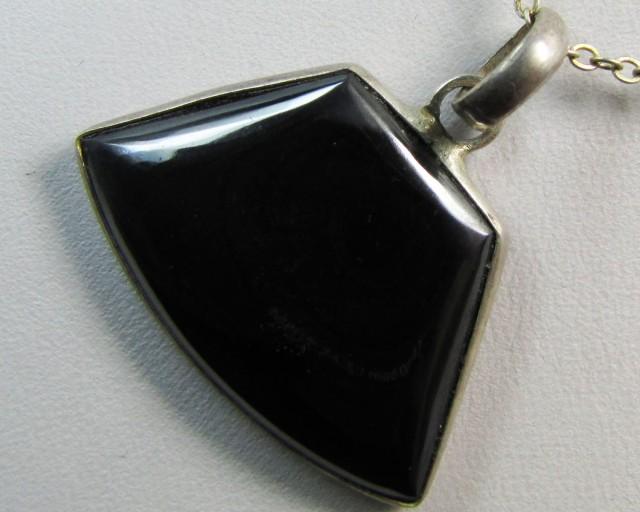 hematite  gemstone Pendant MJA 97