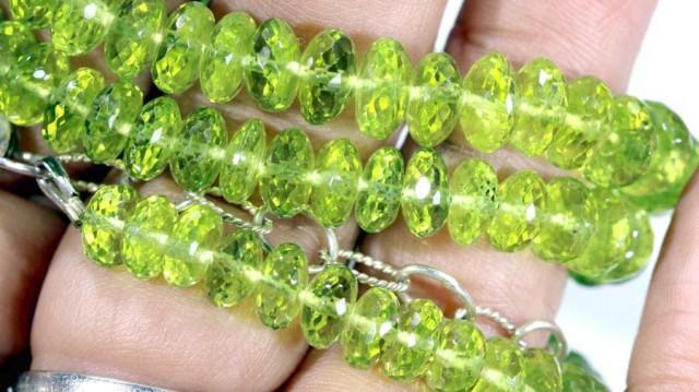 AAA grade peridot necklacess 180 carats ANGC-253