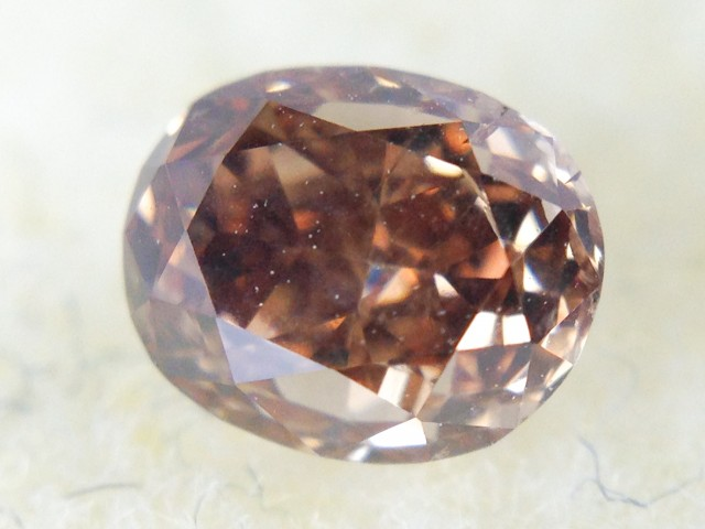 0.45 Carat Oval Cut Chocolate Diamond