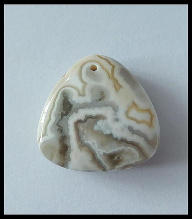 29.5ct Natural Ocean Jasper Pendant Bead