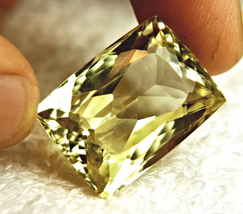 63.35 Carat IF/VVS1 Golden Yellow Triphane - Gorgeous