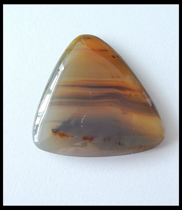 52.5 Cts Natural Agate Gemstone Cabochon