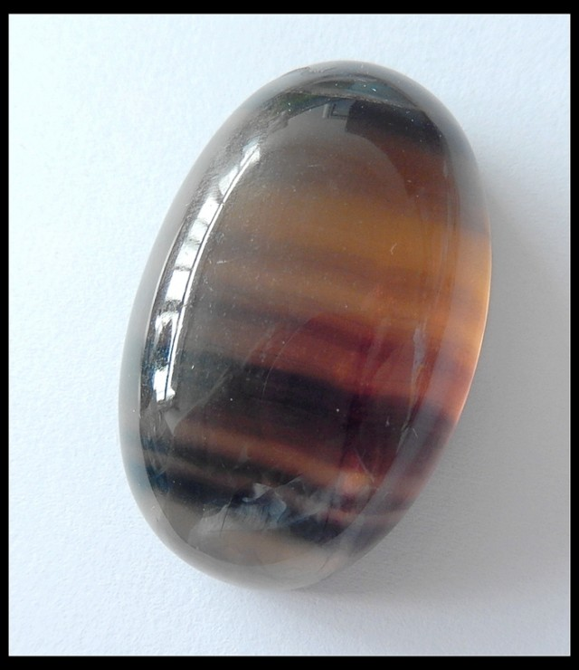 191.5Cts Natural Fluorite Gemstone Cabochon