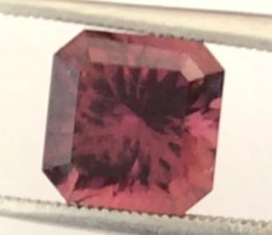 MASTER CUT 2.10ct Purple Tone  Red Tourmaline, Brazil CA05 H661