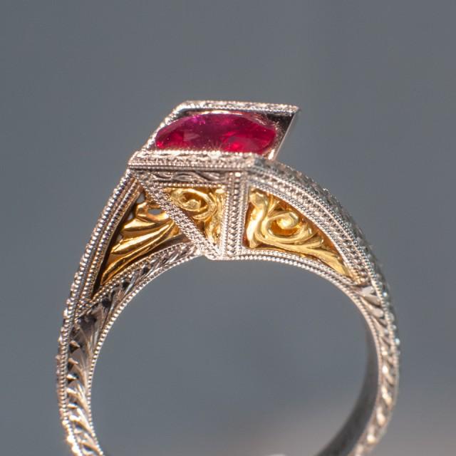 Burmese Ruby Ring 1.20ct