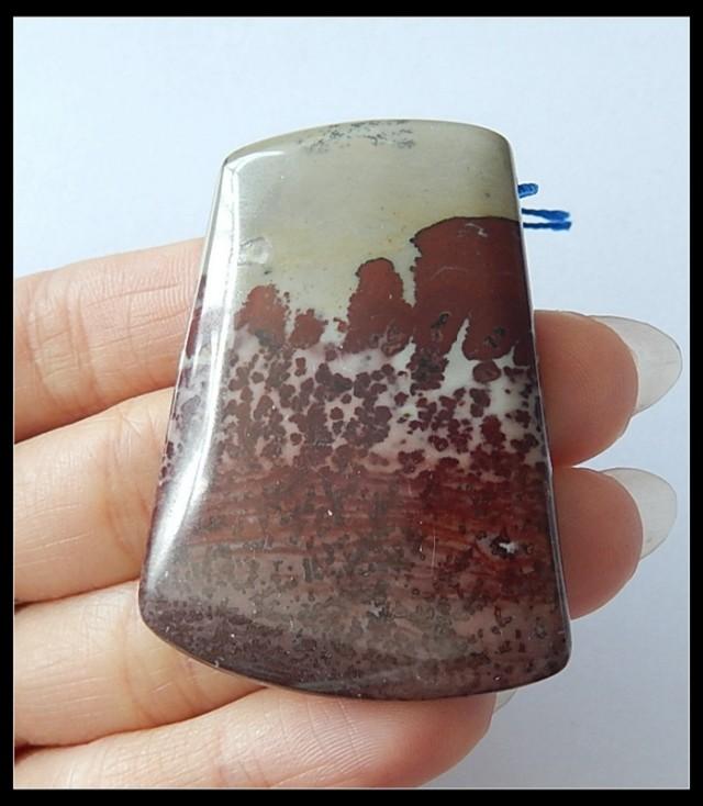 128.5ct Natural Chohua Jasper Pendant Bead(D0020)