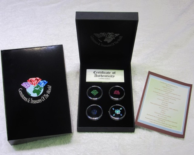 Rubies,Opals,Emeralds,Sapphire Treasures ARS 102