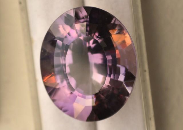 28.54 Carat Oval Cut Very Fine Amethyst