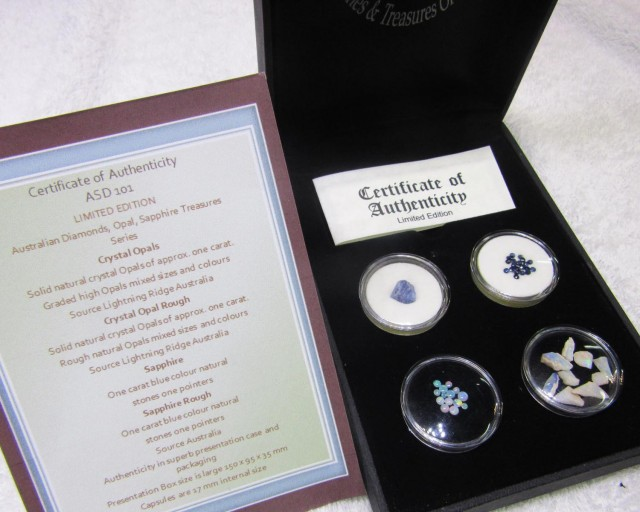 Treasures Opals and Sapphires Australian ASD101