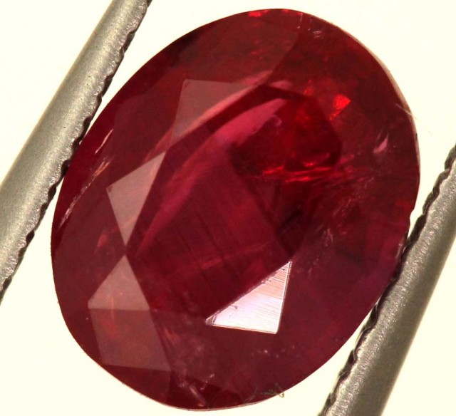 1.32 CTS UNTREATED CERTIFIED NATURAL RUBY TBM-761