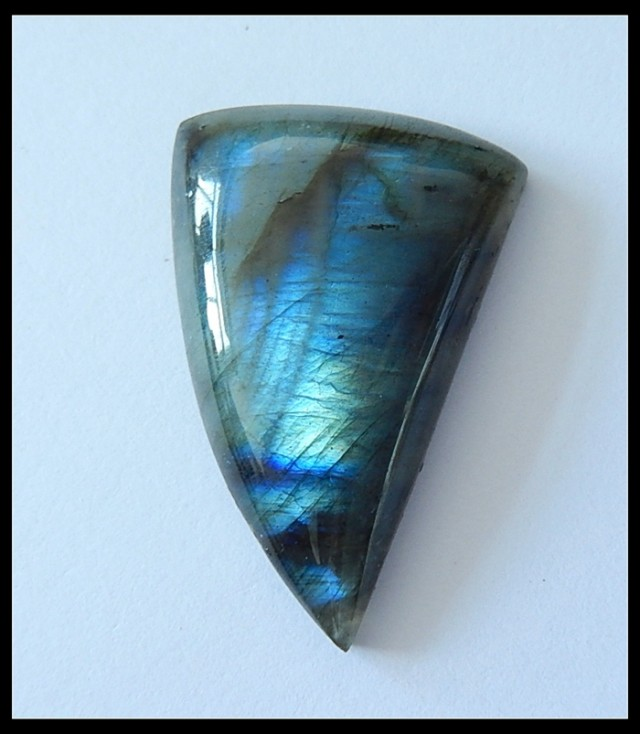 66Cts Natural Labradorite Gemstone Cabochon ,wholesale jewelry