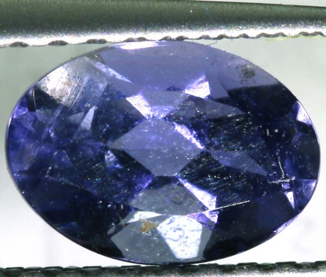 TANZANITE FACETED VIOLET BLUE 0.60 CTS RNG-313