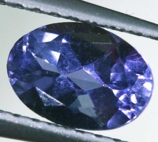 IOLITE FACETED VIOLET BLUE 0.70 CTS RNG-319