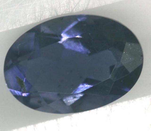 IOLITE  FACETED VIOLET BLUE 0.60 CTS RNG-330