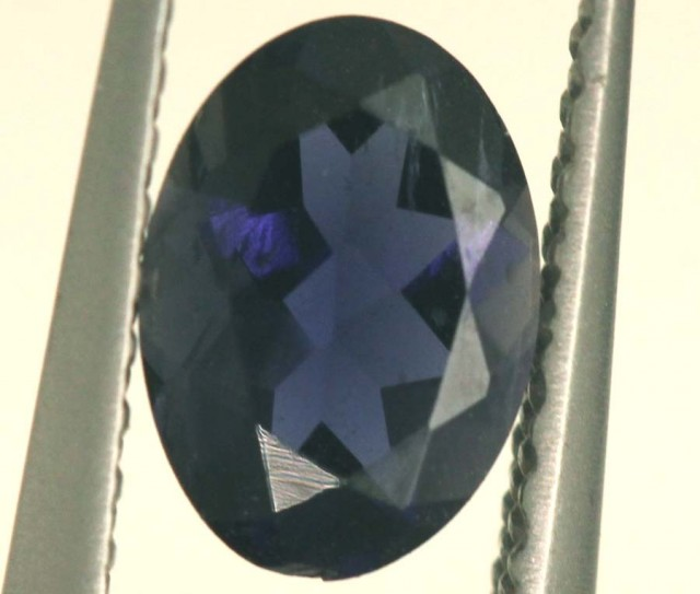 TANZANITE FACETED VIOLET BLUE 0.60 CTS RNG-331