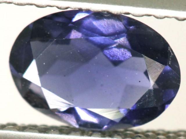 IOLITE FACETED VIOLET BLUE 0.50 CTS RNG-332