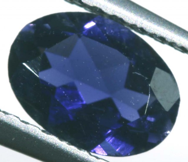IOLITE FACETED VIOLET BLUE 0.55 CTS RNG-340