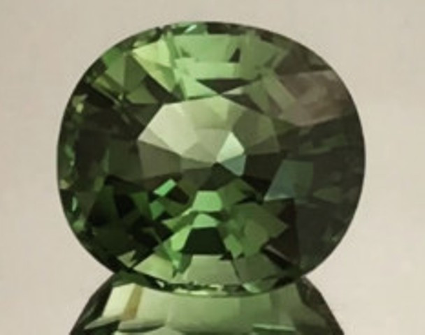3.44ct Forest Green Quality Green Tourmaline BB21 H635