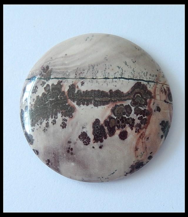 P0571 - 105Cts Nataural Chohua Jasper Round Cabochon
