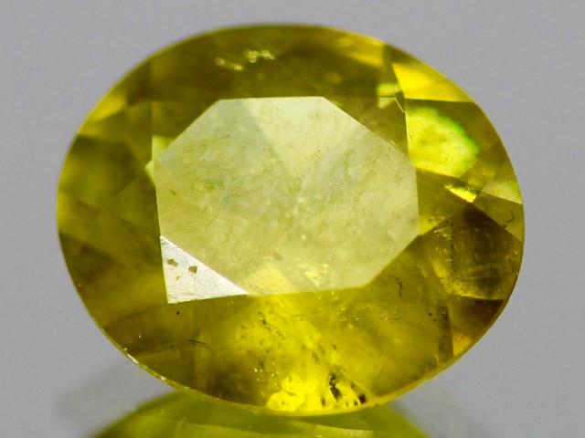 3.03cts Yellow Sphene from Madagascar