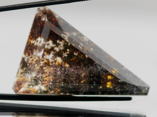 44.52cts Lodolite Quartz from Madagascar