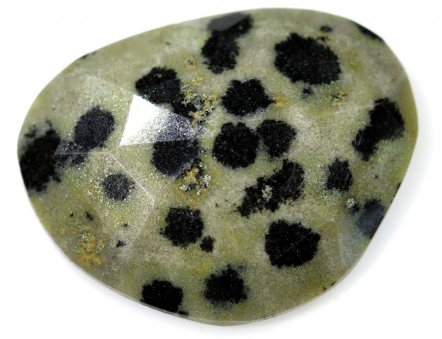 9.10 CTS FACETED DALMATION JASPER ADG-1268