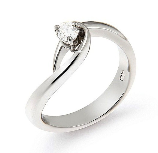 SALE!!GIA CERTIFIED- 18K WHITE GOLD-1.50ct Round H-VS2 NR